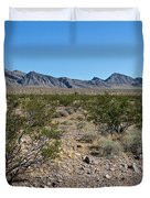 Gold Butte Skyline Duvet Cover