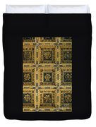 Gold Cathedral Ceiling Italy Duvet Cover