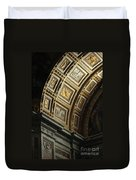 Gold Inlay Arches St. Peter's Basillica Duvet Cover