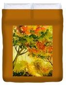 Golden Autumn Day Duvet Cover