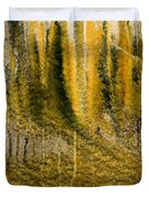 Golden Autumn Forest Duvet Cover