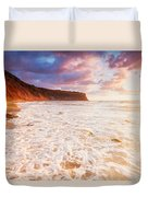 Golden Bay Duvet Cover