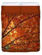 Golden Canopy Duvet Cover