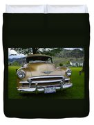 Golden Chevy Duvet Cover