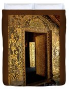 Golden Doorway 2 Duvet Cover