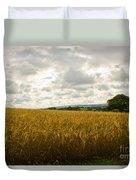 Golden Field Duvet Cover