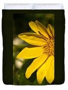 Golden Flower 1 Duvet Cover