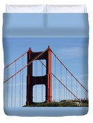 Golden Gate North Tower Duvet Cover