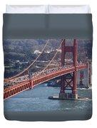 Golden Gate Traffic Duvet Cover