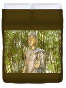 Golden Goddess Duvet Cover
