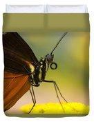 Golden Helicon On Flower Duvet Cover
