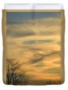 Golden Hue Duvet Cover