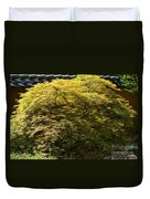 Golden Japanese Maple Duvet Cover