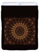 Golden Mandala 3 Duvet Cover