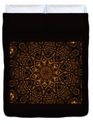 Golden Mandala 4 Duvet Cover