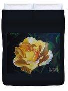 Golden Showers Rose Duvet Cover