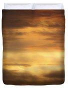 Golden Sunrise Squared Duvet Cover