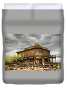Goldfield Ghost Town - Peterson's Mercantile  Duvet Cover