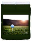 Golf Ball Duvet Cover