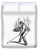 Golf, C1920 Duvet Cover