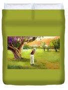 Golf In Spain Castello Masters  04 Duvet Cover