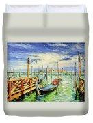 Gondolla Venice Duvet Cover
