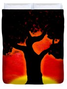 Gone With The Sunset Duvet Cover