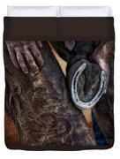 Good Luck Duvet Cover by Susan Candelario