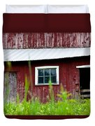 Good Ole Red Barn Duvet Cover