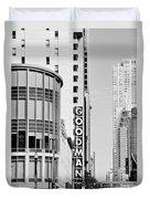 Goodman Theatre Center Chicago Duvet Cover