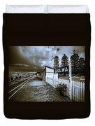 Goolwa Station Duvet Cover