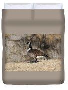 Goose Profile Duvet Cover