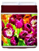 Gorgeous Tulips Duvet Cover
