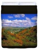 Gortin Valley, Co Tyrone, Ireland Duvet Cover