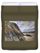 Goscar Rock Tenby 3 Duvet Cover