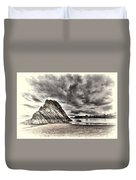 Goscar Rock Tenby Cream Duvet Cover