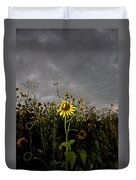 Goth Sunflower Duvet Cover
