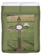 Gothic Grave Marker Duvet Cover