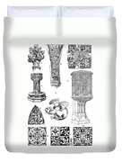 Gothic Ornament Duvet Cover