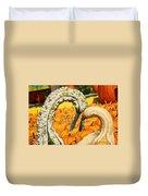 Gourd Heart Duvet Cover