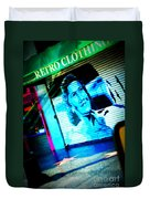 Grab A Star On Sunset Boulevard In Hollywood Duvet Cover