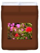 Graceful Honeyeater Duvet Cover