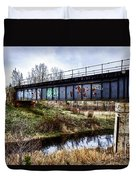 Graffiti Bridge Duvet Cover