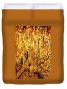 Grafitti Detail Duvet Cover