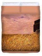 Grain Elevator And Crop Duvet Cover