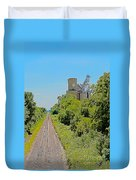 Grain Processing Facility In Shirley Illinois 4 Duvet Cover