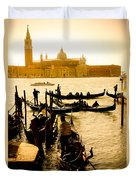 Grand Canal At Sunset - Venice Duvet Cover