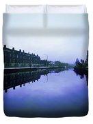 Grand Canal, Portobello, Dublin, Co Duvet Cover