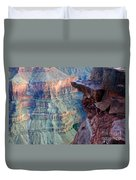 Grand Canyon A Place To Stand Duvet Cover