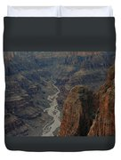 Grand Canyon-aerial Perspective Duvet Cover